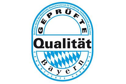 Foto: Siegel geprüfte Qualität Bayer